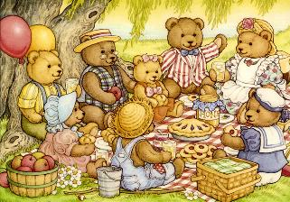 teddy bear picnic day picture