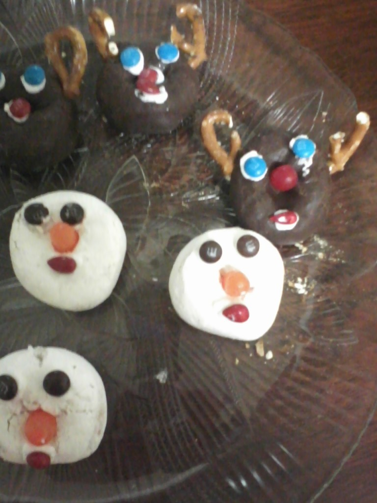 donut reindeer