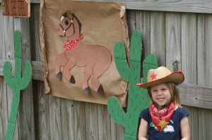 pin the tail on the horse