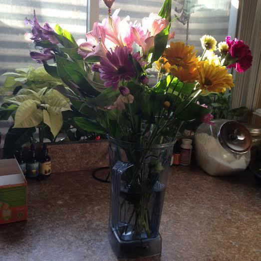 blender flowers